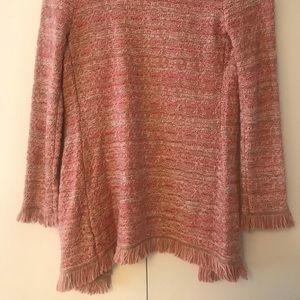 Lightly worn, Knit Cardigan sweater, Pink (Cache)